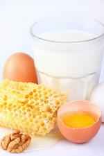 Кашель молоко мед яйцо