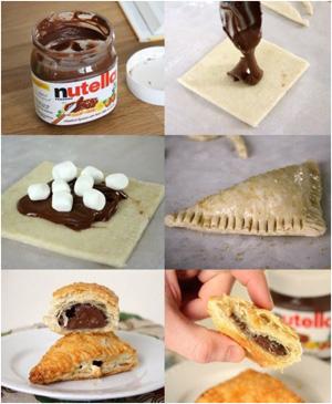 Пирожки на десерт